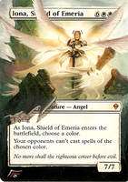 Iona, Shield of Emeria by BlackWingStudio