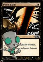 I'm gonna cast the doom blade now! by BlackWingStudio