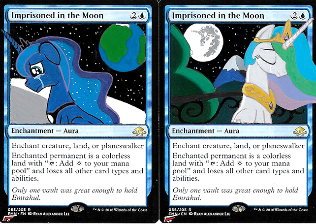 Image result for imprisoned in the moon mlp alter