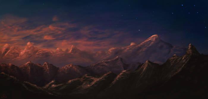 Slumbering Mountains