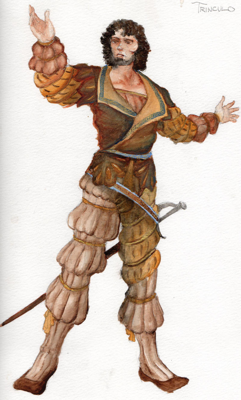 Trinculo-Costume Rendering by ScottAronow