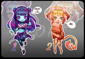 |Open|- Streamers girls -|auction| by SnowMaybells