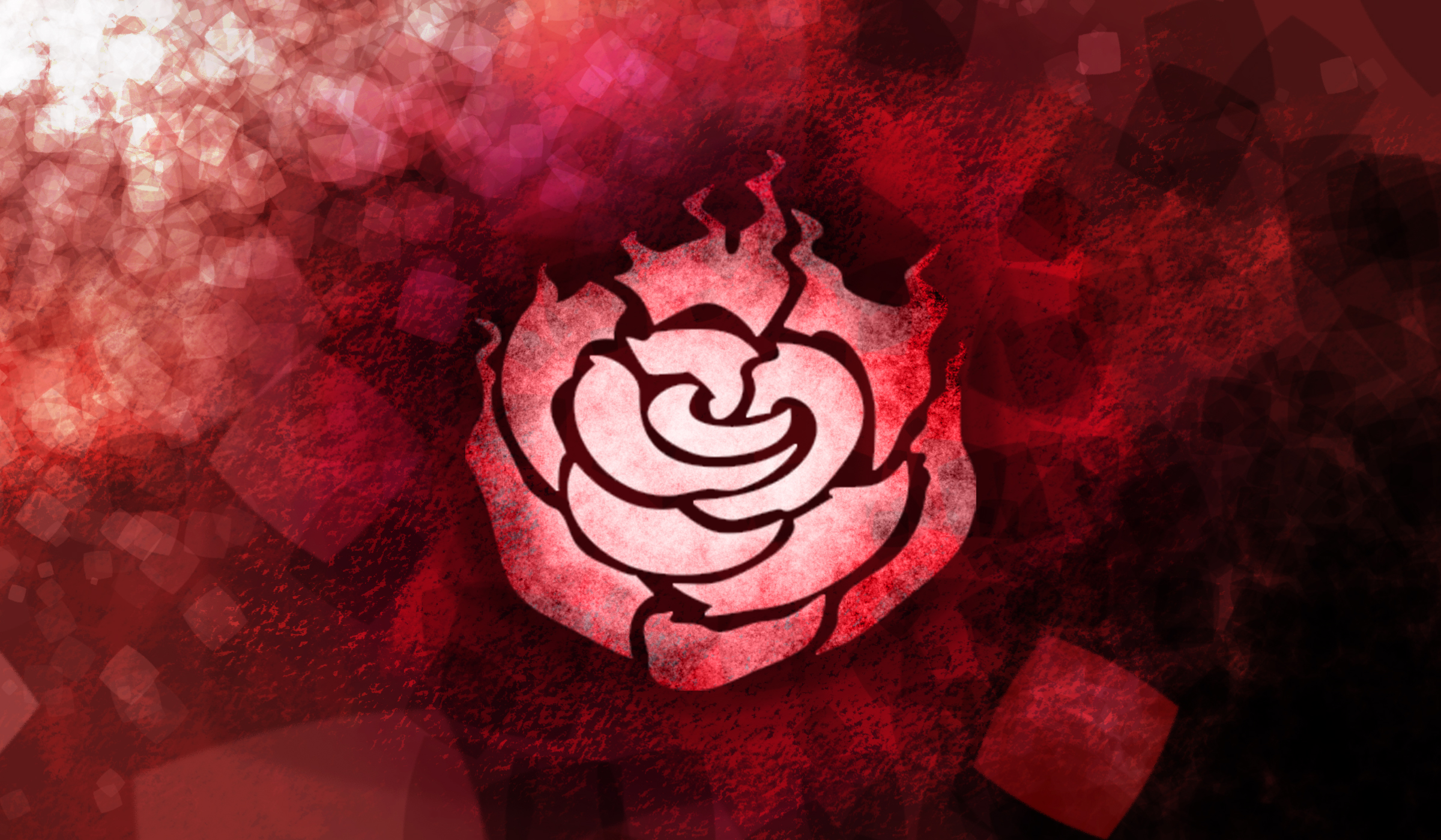 RWBY Ruby Symbol WP by The-Blobmonster on DeviantArt