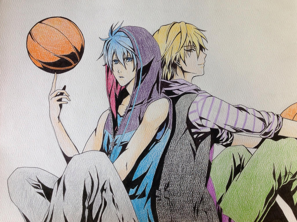 Kise and kuroko by Fangirl342