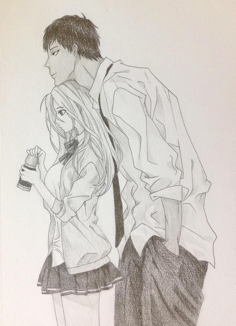 Aomine x Satsuki by Fangirl342