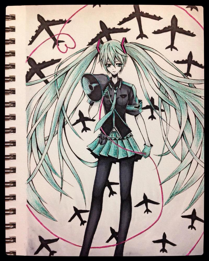 Love is war - Hatsune Miku by Fangirl342