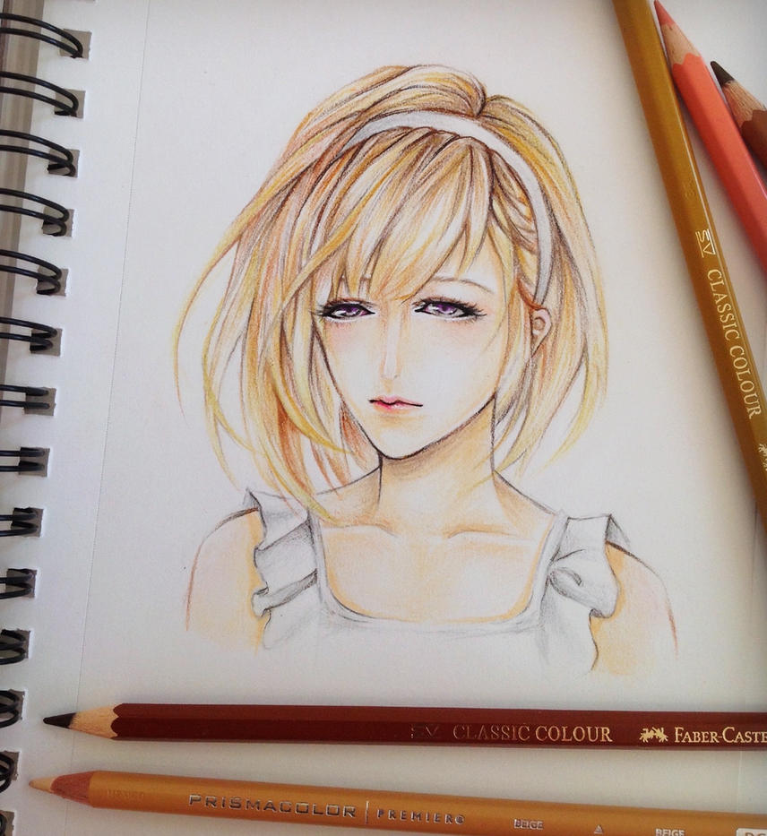 Color pencil drawing by fangirl342 on deviantart
