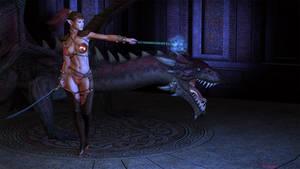 Dragon Girl by Kreegan