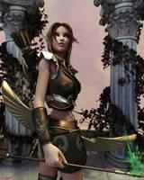 Elven Archer by Kreegan