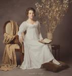 1810 muslin dress