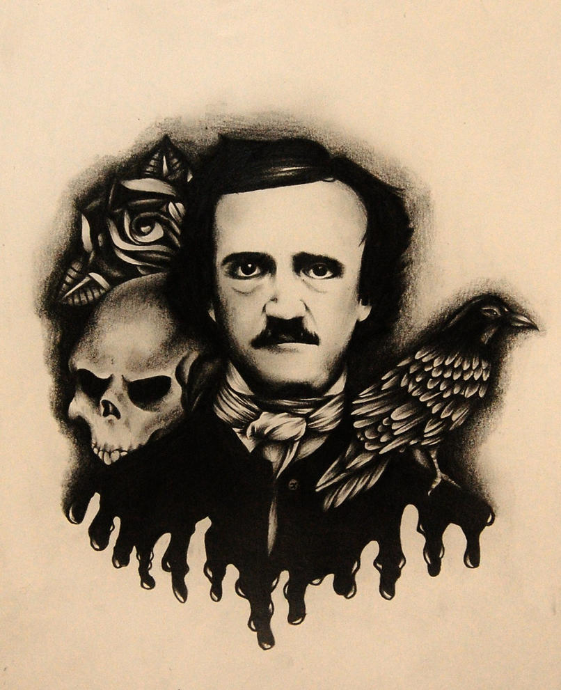 Edgar Allan Poe by Nevermore-Ink