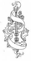 Old school guitar