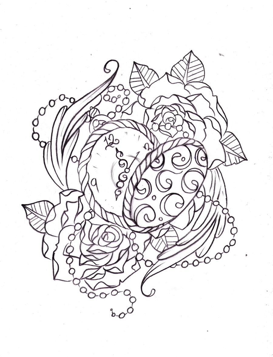 Pocket Watch Sketch By Nevermore Ink On DeviantArt