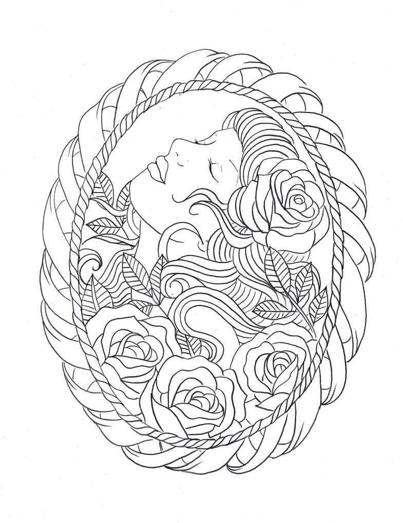 frame tattoo designs. Frame Tattoo Design By Nevermore-Ink Frame Designs