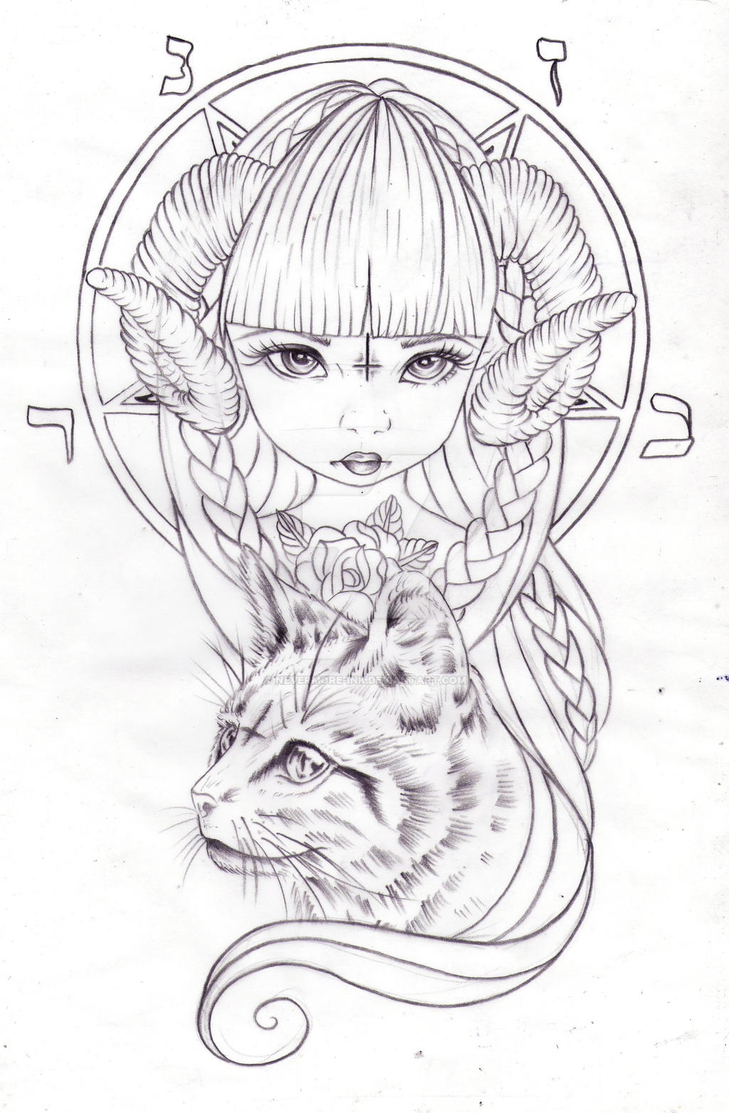 Sweet Baby Satanica by Nevermore-Ink