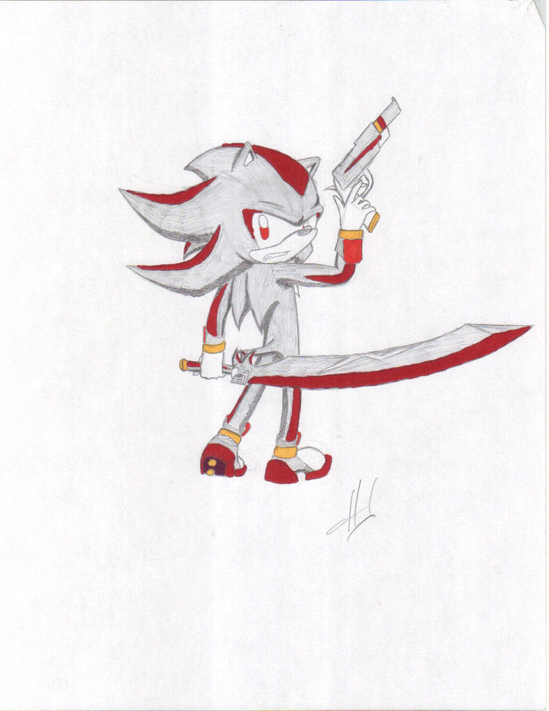 Shadow the Hedgehog by HumbertandKlaus on deviantART