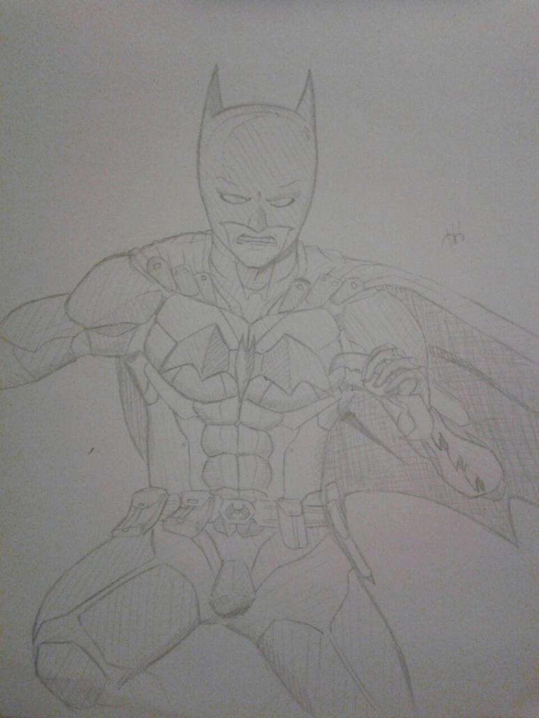 Batman sketch by HumbertandKlaus
