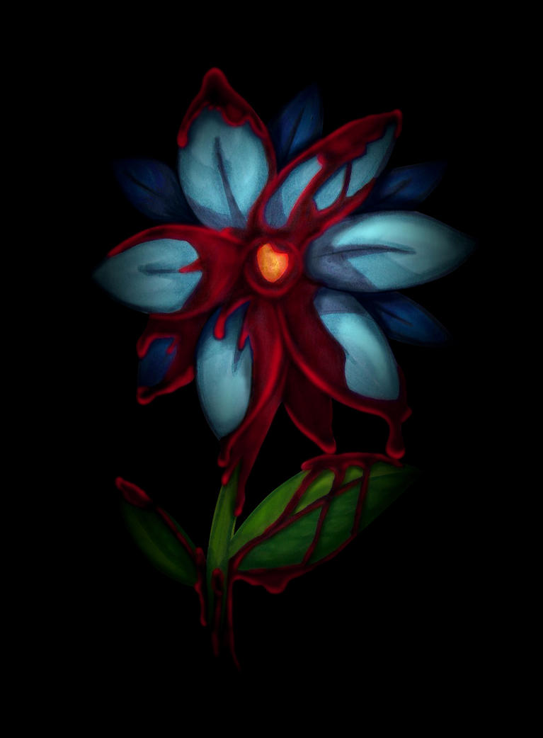 Flower by wasting-air
