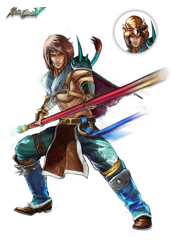 Soul Calibur V Anime Characters : Kilik lost soul by kureiyah on deviantart