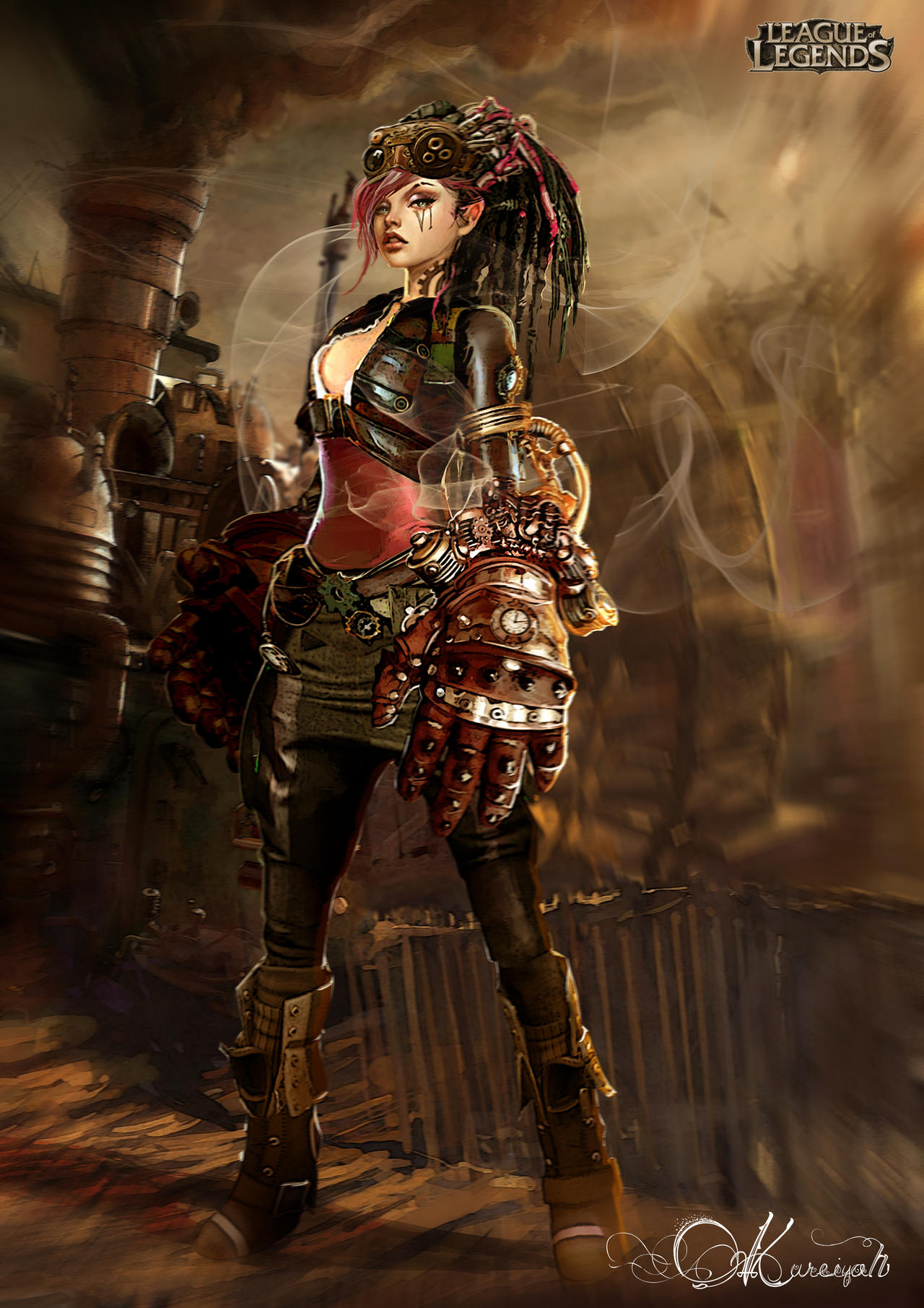 Pin by Doc Mammoth on digital art | Environment concept ...  |Victorian Steampunk Concept Art