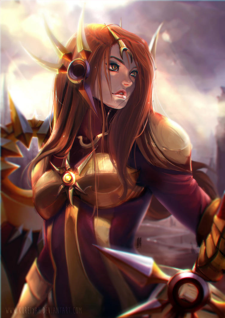 Leona by Kureiyah on DeviantArt