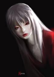 Red in black by Kureiyah