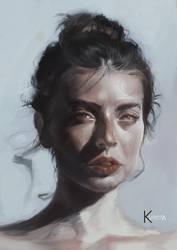 Beauty Portrait  by Kureiyah