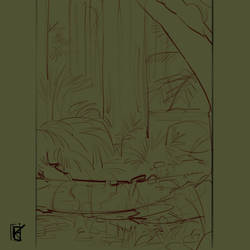 Forest LineART