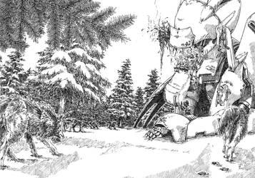 Disgraceful unexpected calamity by Ryoki-Ihu