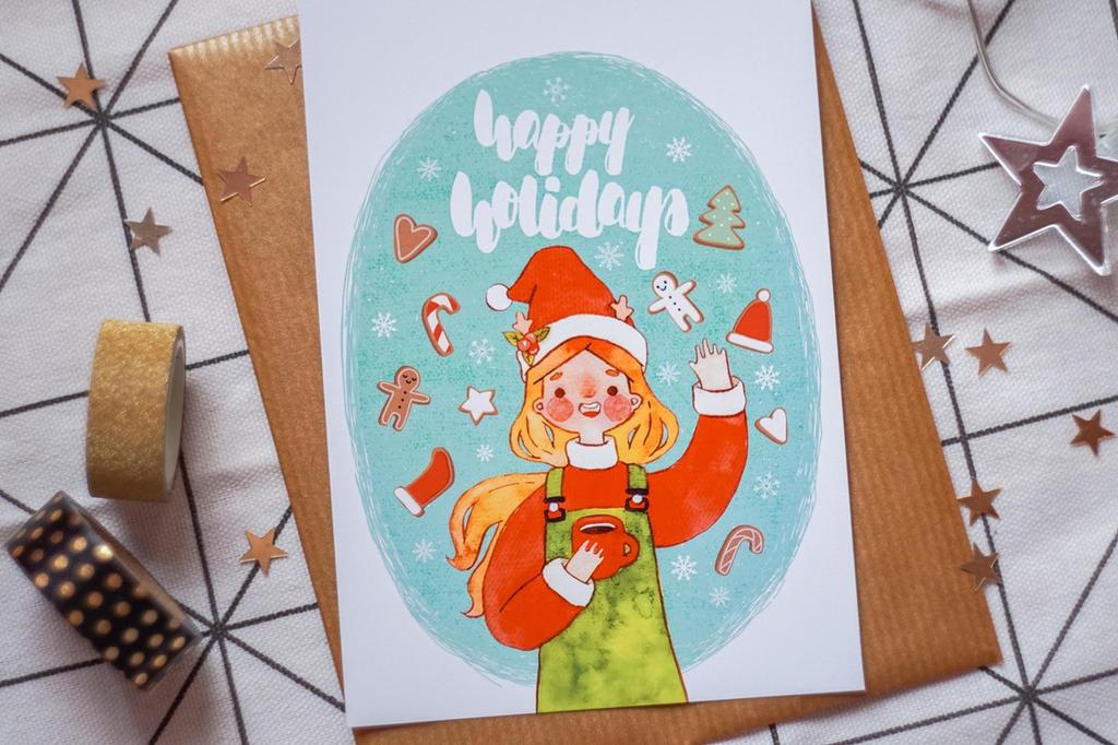 Happy Holidays! by Mirrelley