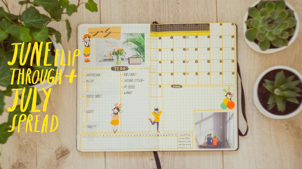 Plan with me: July! (video) by Mirrelley