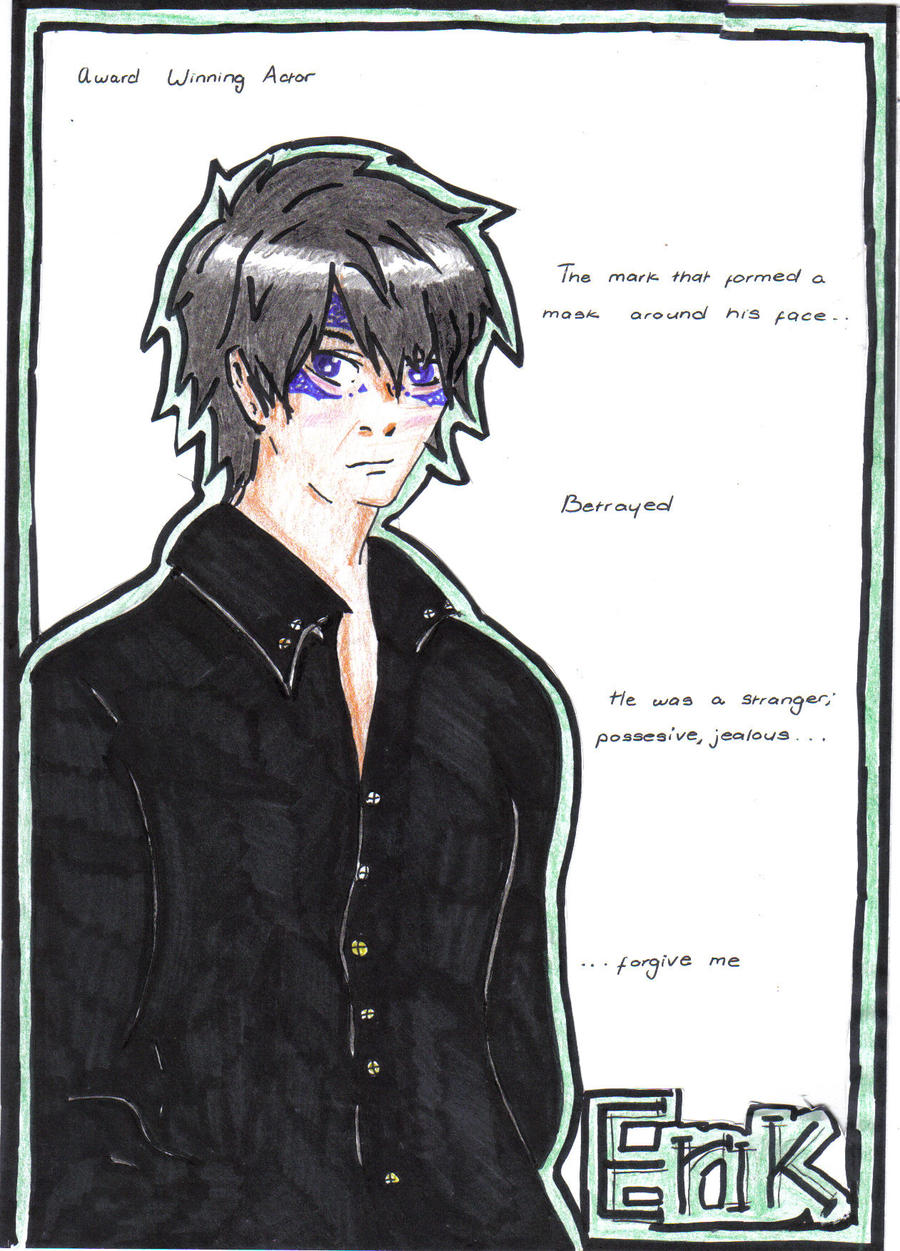 House of Night: Erik Night by moonfern