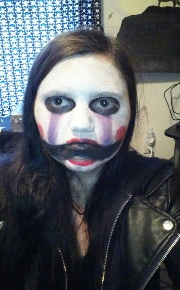 FNaF 2 Puppet makeup by Shadowonthewall22