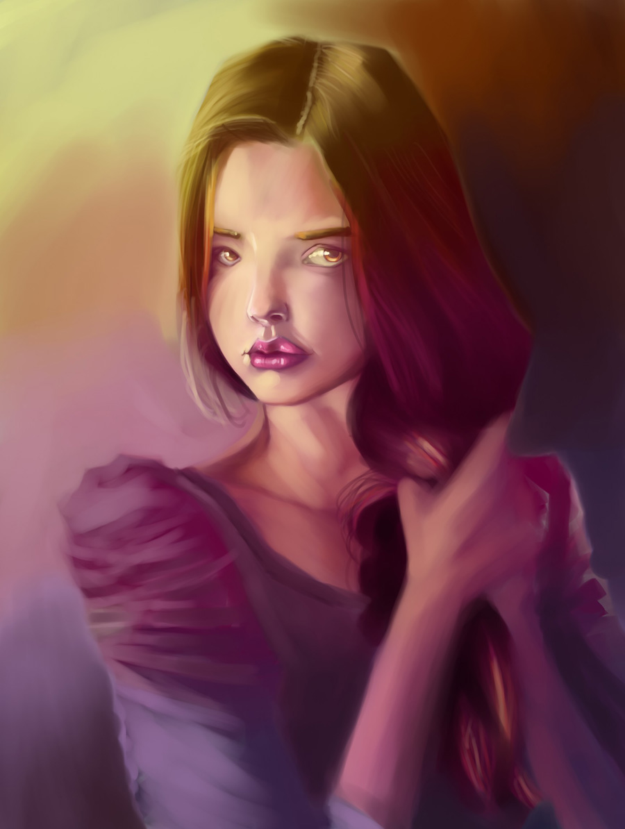 The Stare by vandalk