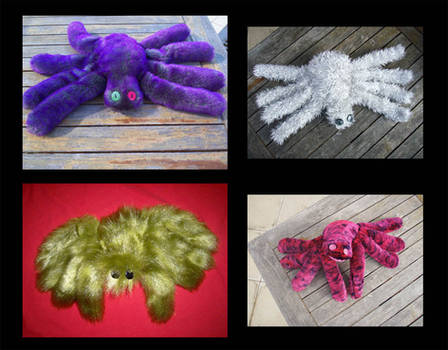 Plushie Spiders 2
