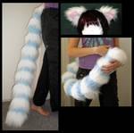 Lemur tail and Ear Set