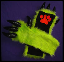 Monster Arm Warmers Custom 2 by StuffItCreations