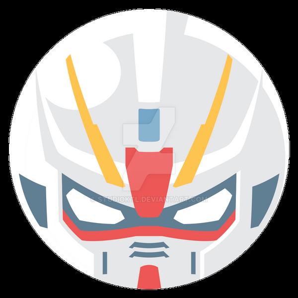Strike Gundam by studioktl