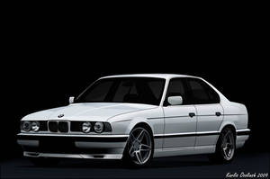 BMW E34 Vector as Redraw by Feat8