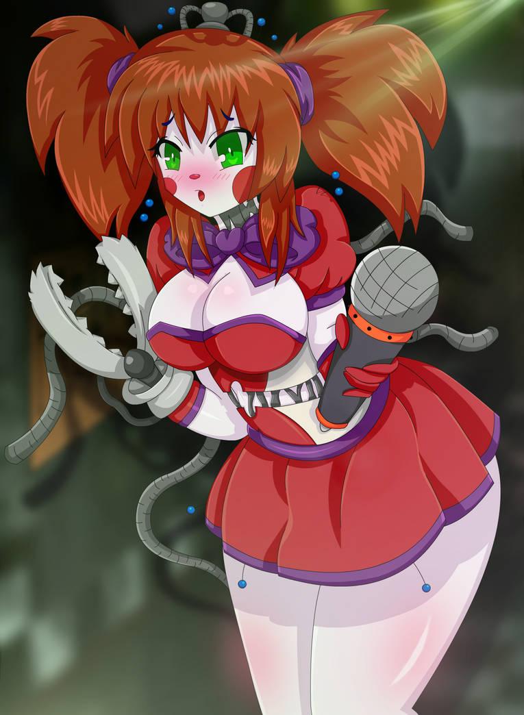 Freakshow Baby Anime Fnia Style Sister Location By