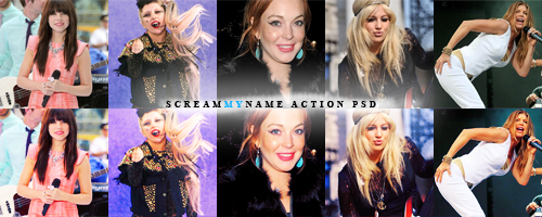 Screammyname action 2 by princess-katie90