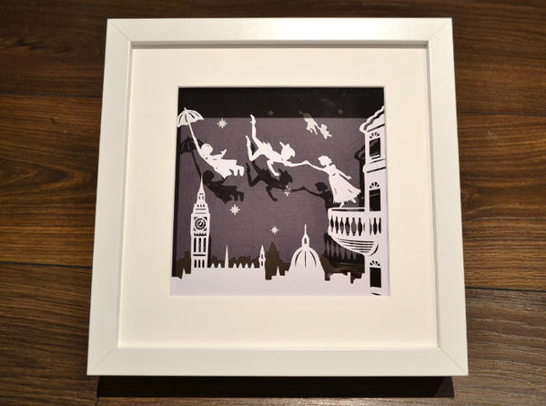 Peter Pan Papercut by Paper-Petal on DeviantArt
