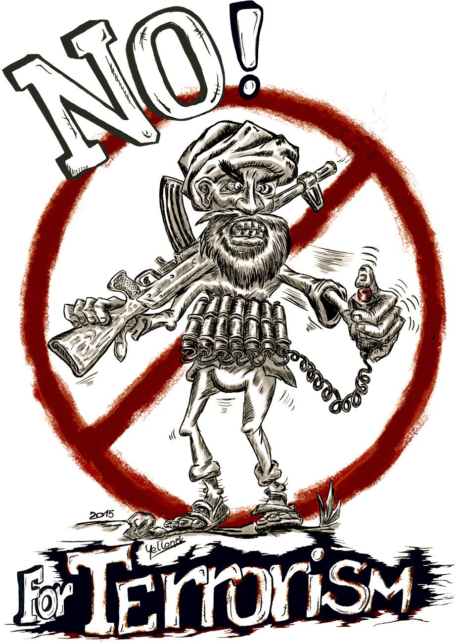 No Terrorism poster by Willhorn on DeviantArt  No Terrorism
