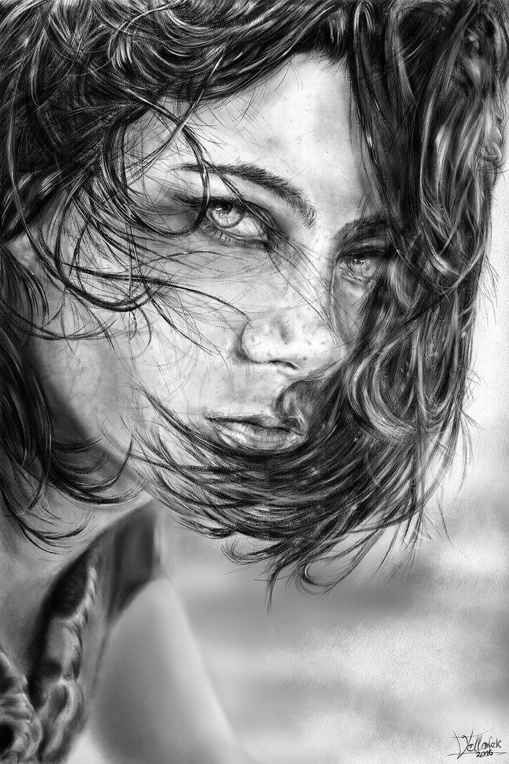Girl Portrait by Willhorn