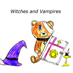 Witches and Vampires Cover