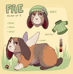 Fae Reference Sheet by Passive-Demonic