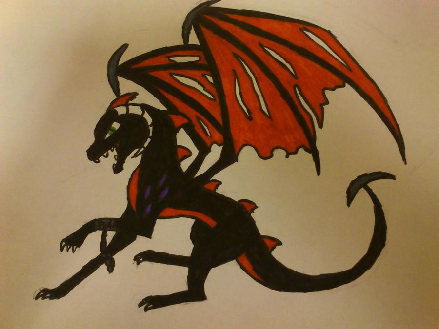 dark fury by cynderplayer