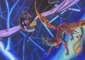 [YGO Dragon AU] A Clash of Shadow and Fire