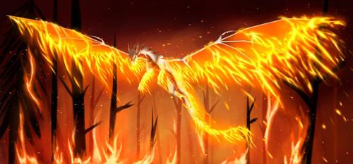[YGO Dragon AU] Rising Fire