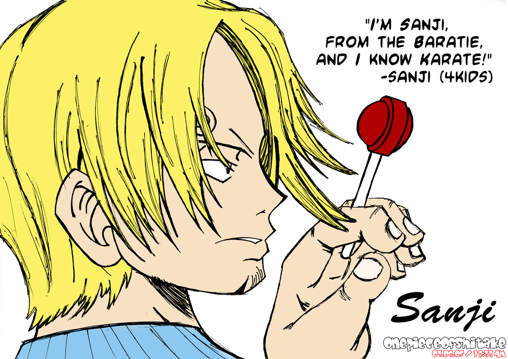 Lameass Sanji From The Baratie By Onepieceofshitake On Deviantart